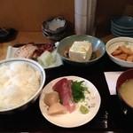 和久良 - ランチ(赤身魚粕漬け)