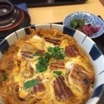 登亭 - うなたま丼 1400円 おいしい、量多い!