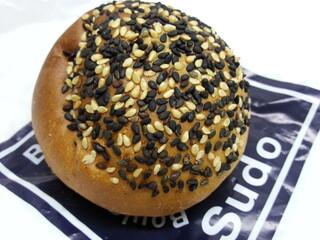 Boulangerie Sudo - 薄皮粒あんぱん 130円