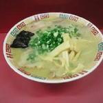 宝来軒 - チャーシュー麺(700円)に+100円の大盛りです
