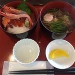 24195805 - 海鮮丼セット 980円