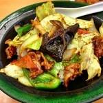 四川料理 長楽 - 回鍋肉飯