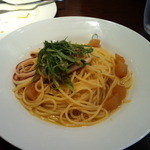 Bistro a vin EAU ROUGE - パスタ!うまい!