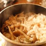 相模 - 料理写真:かき釜飯