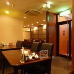 中国料理随園 - ホテル内レストランらしい雰囲気