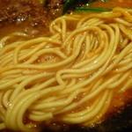 中国料理随園 - 細めのストレート麺
