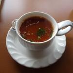 マハラジャダイニング - トマトスープ