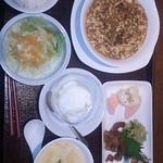 24199850 - 麻婆豆腐のセット
