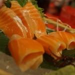 ユック - 鮭トロ刺身