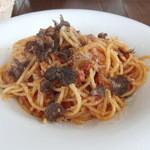 デルフィーノ - 豚肉のラグー 黒トリュフ風味