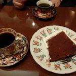 24202363 - ケーキと珈琲・・・まったり♪