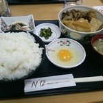 レストランN12 - 日替り定食ご飯大盛