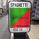 スパゲティ・ヴォーノ・ヴォーノ - 通りにはこの看板が目印!