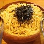スパゲティ・ヴォーノ・ヴォーノ - ウニとイカのスパゲティ大盛り1150円