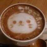 スコップカフェ - カフェラテ(550円)