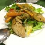 スペイン料理 ティオ・ダンジョウ - 牡蠣のエスカベッシュです。