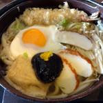 そば 寿し 花しん - 2014/2 鍋焼きうどん