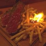 24206370 - お肉はミートファイヤーで提供(o^^o)