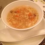 24208007 - ランチコースのスープ