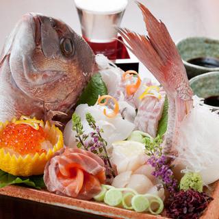 【新鮮お造り】市場直送!『活け締め(朝締め)』鮮魚