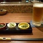 四季旬菜まんま - 秋田名物「みずの実」を含めたお通し
