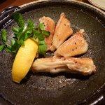 四季旬菜まんま - 比内地鶏手羽先の塩焼き