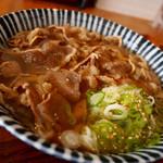 増田うどん - 増田肉うどん(720円)温