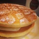 タリーズコーヒー - T'sパンケーキチーズハニーとコロンビア