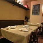 ジィオ - テーブル席