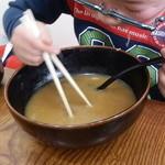 柳家 - スープまでは無理かも^^;