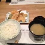 天ぷら新宿つな八 - 天ぷら定食