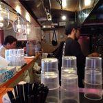 麺屋大斗 - 隣の客と密着度が高い