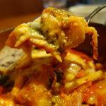 ピッツェリア ラ・ソフィッタ - フレッシュトマトと薄切りポテトのラザニア(限定6食) 1100円