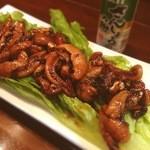 加乃季節料理 - ウナギの肝炒め