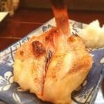 加乃季節料理 - きんきの塩焼き