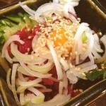 加乃季節料理 - 馬刺しポン酢