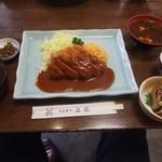 とんかつ立花 - 料理写真:社長とんかつセット