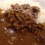 モジャカレー - 牛肉は薄切り肉で柔らかくて甘い♥︎