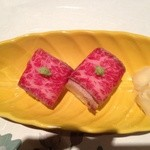 24223754 - 和牛のお寿司