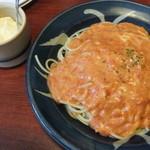 スパゲティーハウスポコ - 粉チーズも付いてきました