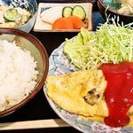 レスト - ジャーマンオムレツ定食800円