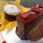 Patisserie SUI - 料理写真:ビジューとフォンダンショコラ