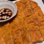鶏ドナルド - キムチチヂミ