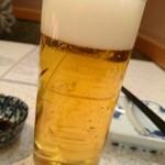 味処てらさき - 生ビール