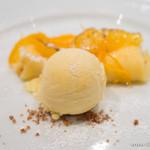 ホロホロ - クレープ・ド・オランジェ グランマニエのアイス【2014年2月】