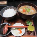 24227837 - 里芋と根菜たっぷりの豚汁膳