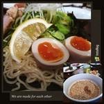 Daining Bar 海 - 何時もの広島つけ麺