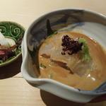 うち山 - 鯛のお刺身・香の物