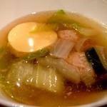 パッポンキッチン - 2014年2月13日自家製玉子豆腐と野菜のスープ
