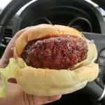 パン工房かつた  - ハンバーガー